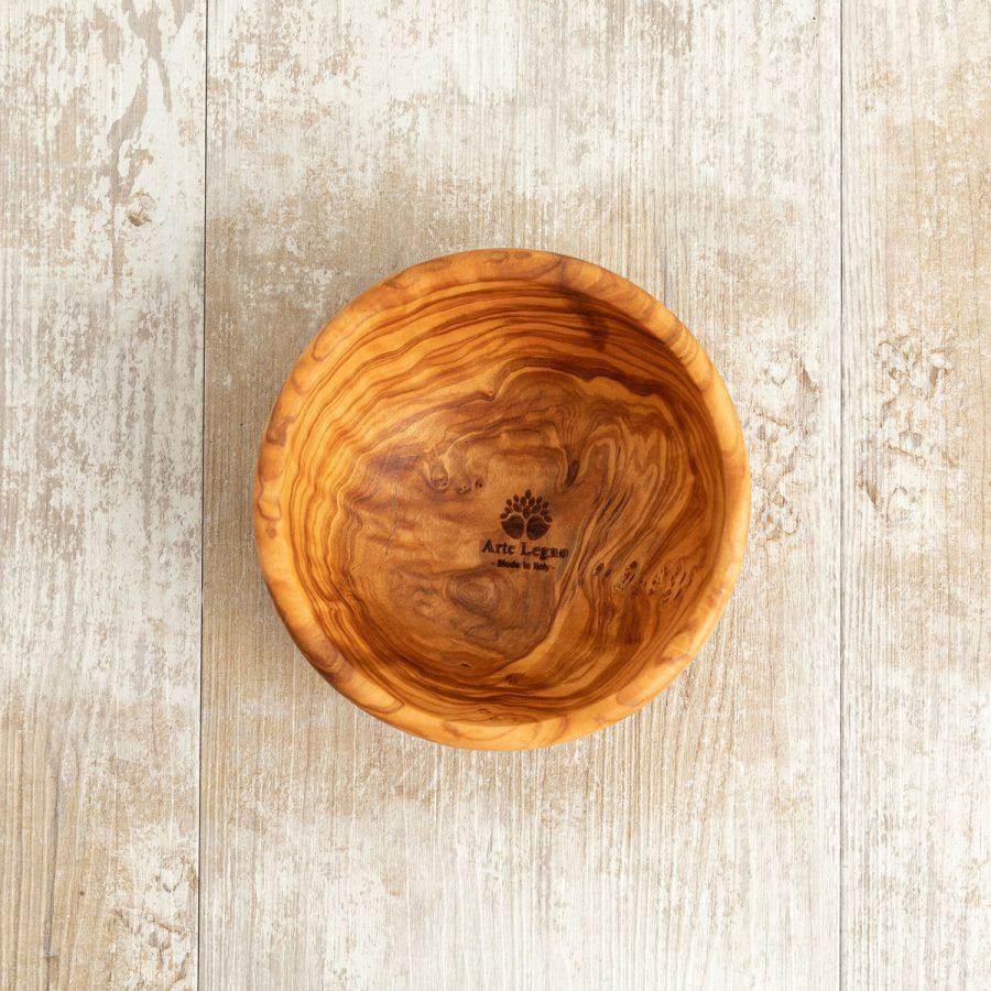 Ciotolina in legno di ulivo - Arte Legno