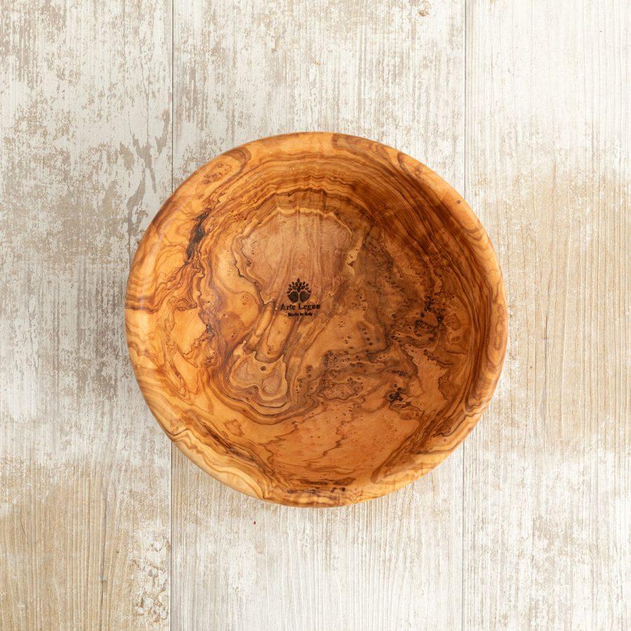 Ciotola in legno di ulivo 21x8 - Arte Legno