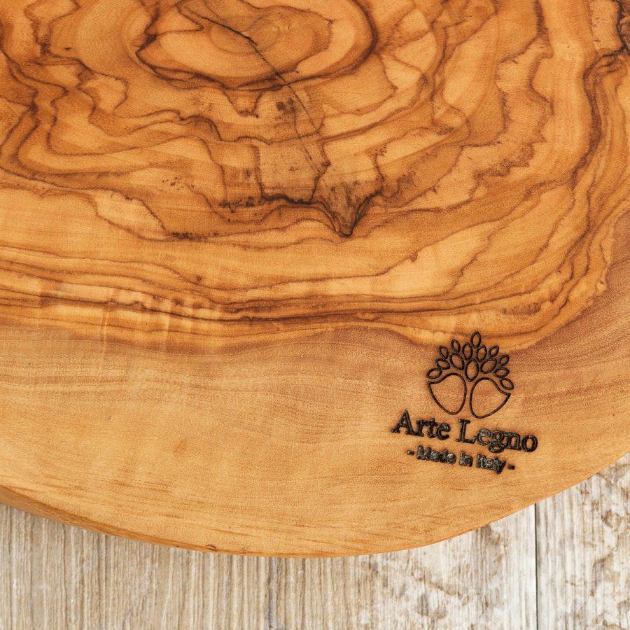 Tagliere + 1 ciotolina ceramica - Arte Legno