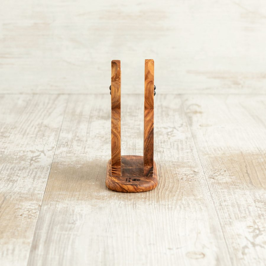 Porta tovaglioli Gatto in legno di ulivo - Arte Legno