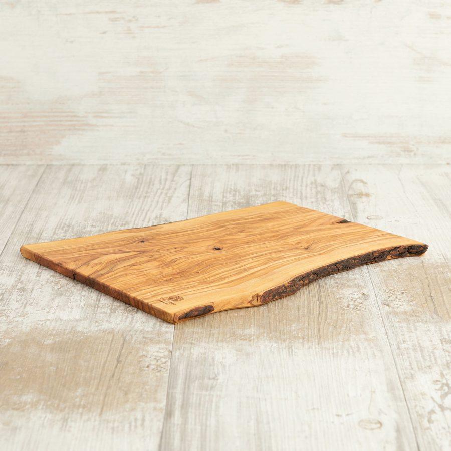 Tagliere 32×21x1 in legno di ulivo - Arte Legno