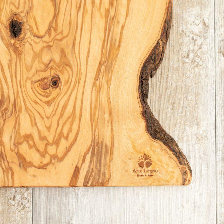 Tagliere sottile in legno di ulivo - Arte Legno