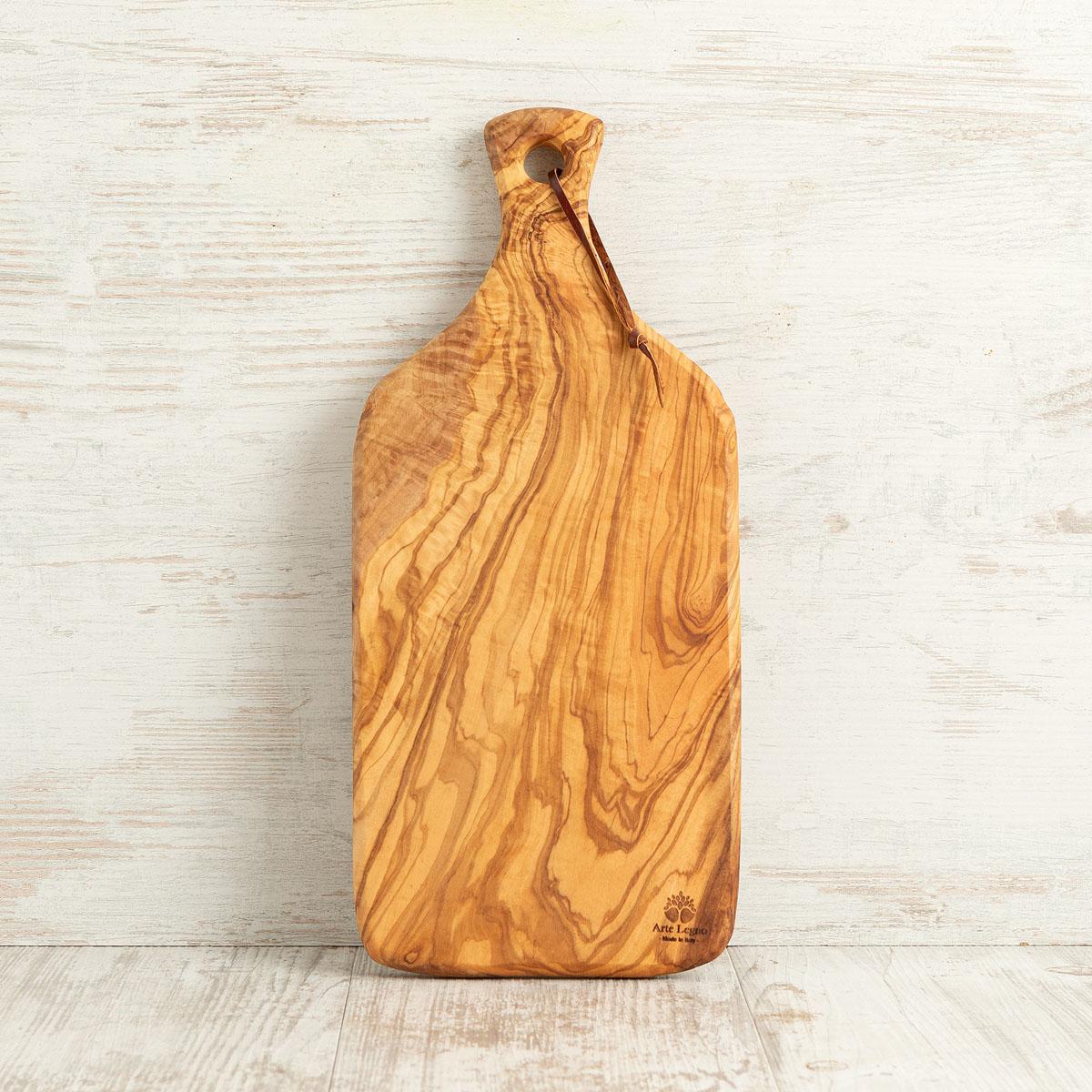 Tagliere fatto a mano in legno di ulivo | Arte Legno