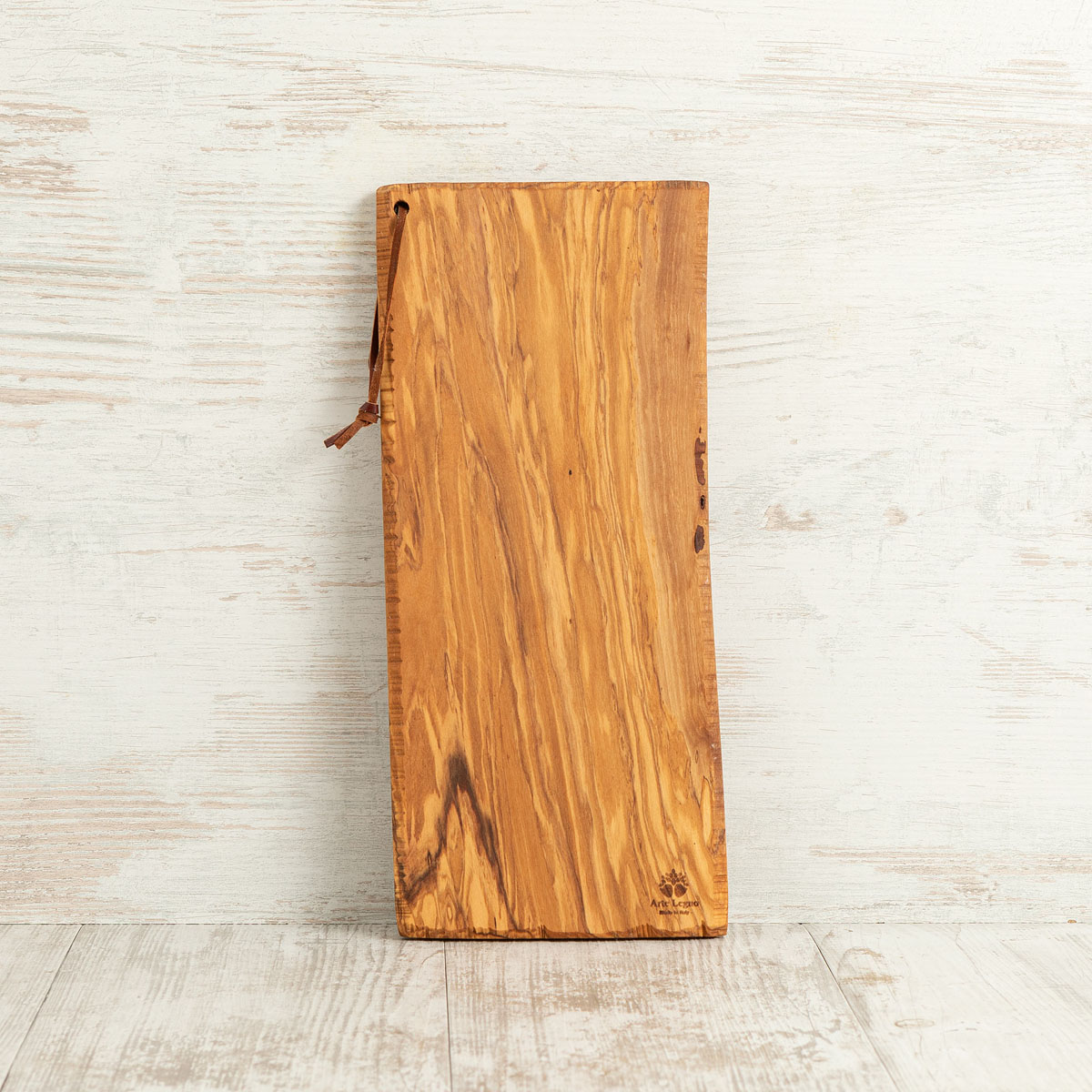 Tagliere lato seghettato in legno di ulivo | Arte Legno