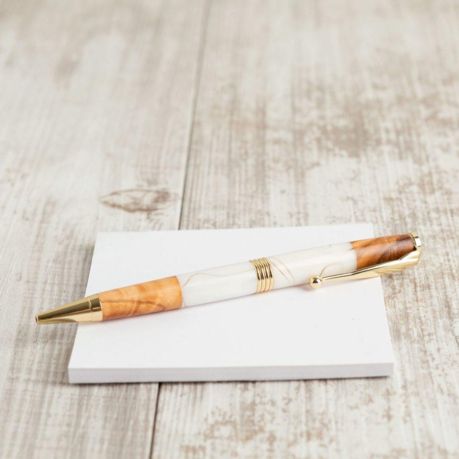Penna legno di ulivo