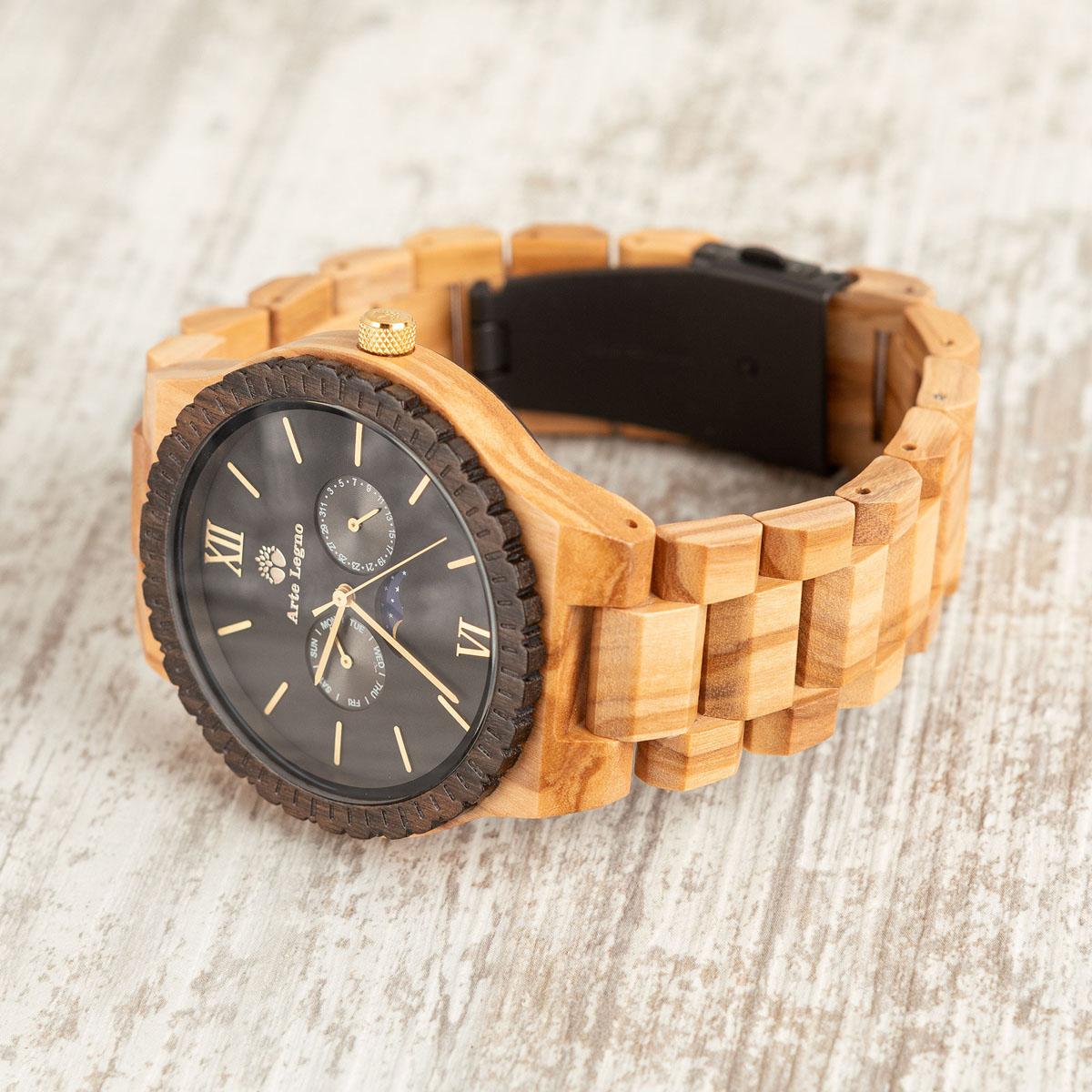 TK45 Armbanduhren aus Holz
