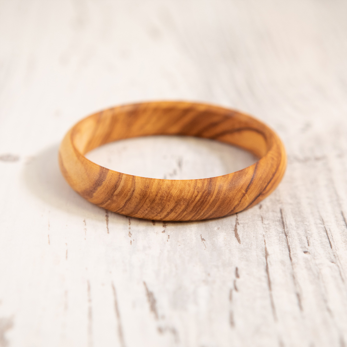 Bracciale in legno di Ulivo - Artelegno