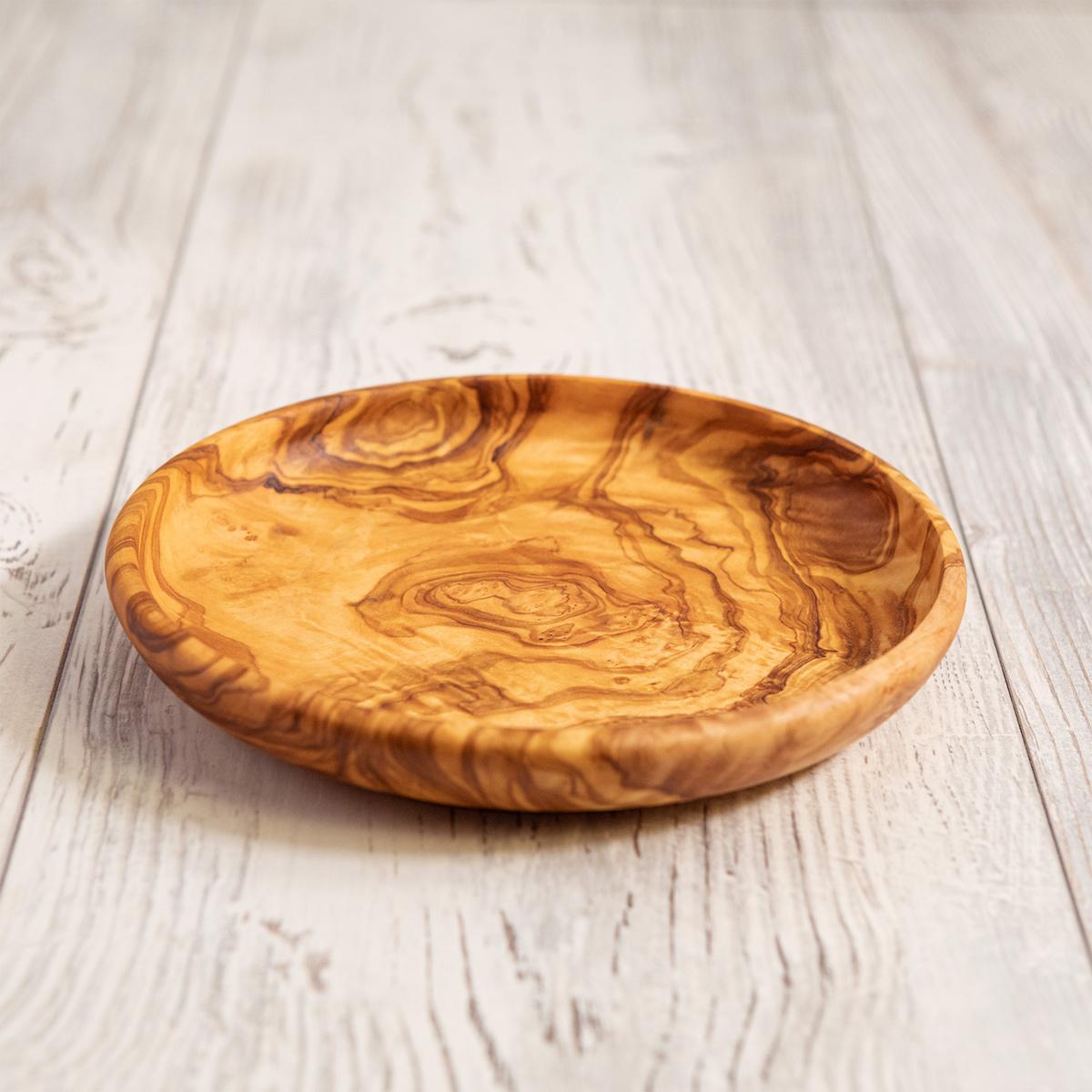 Piatto in legno di Ulivo - Artelegno